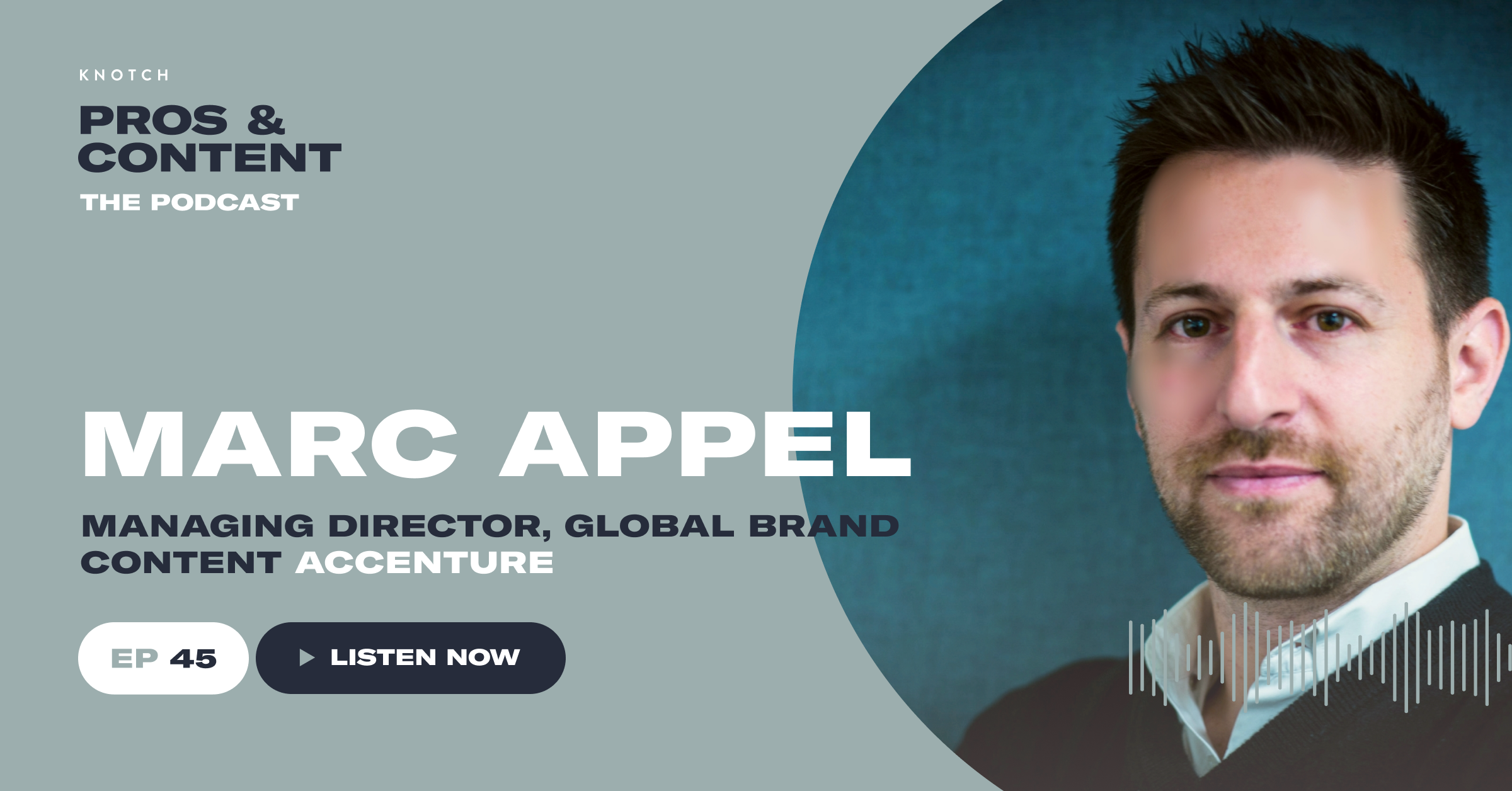 Pros & Content Podcast: Marc Appel