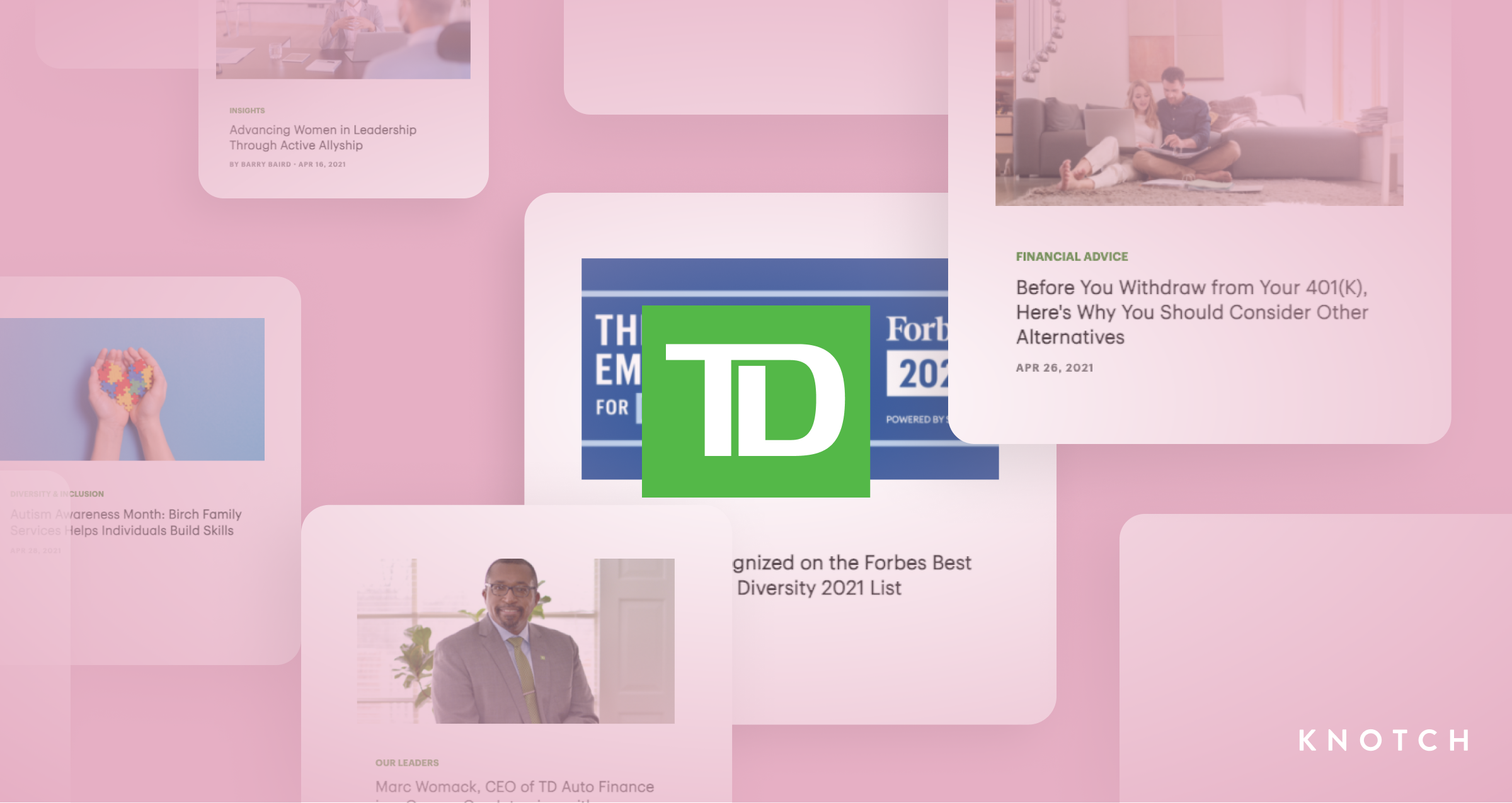 TD Bank Leads The Way: A Content Hub Fueled by Analytics