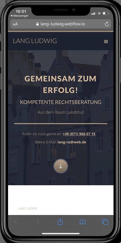Webdesign Landshut