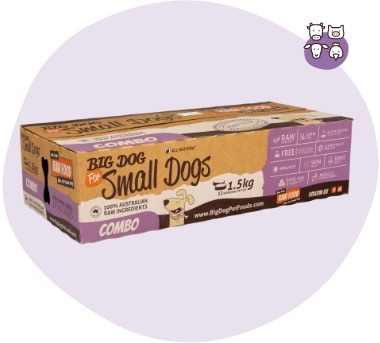 Combo for Small Dogs Raw Diet