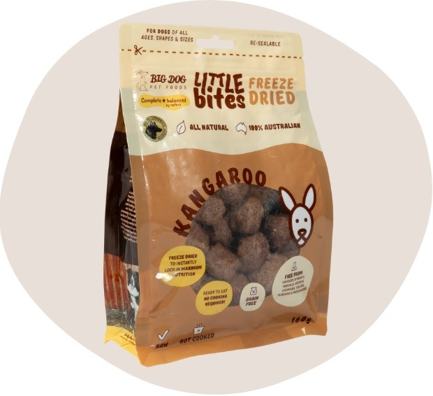 Single Protein Little Bites Freeze Dried Kangaroo