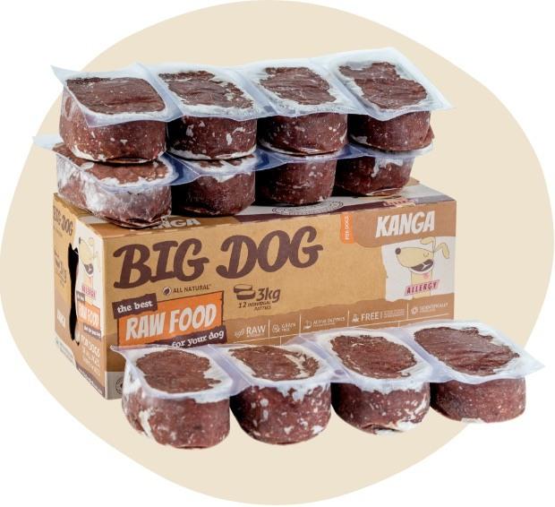 Kangaroo Low Allergy, Single Protein Raw Diet