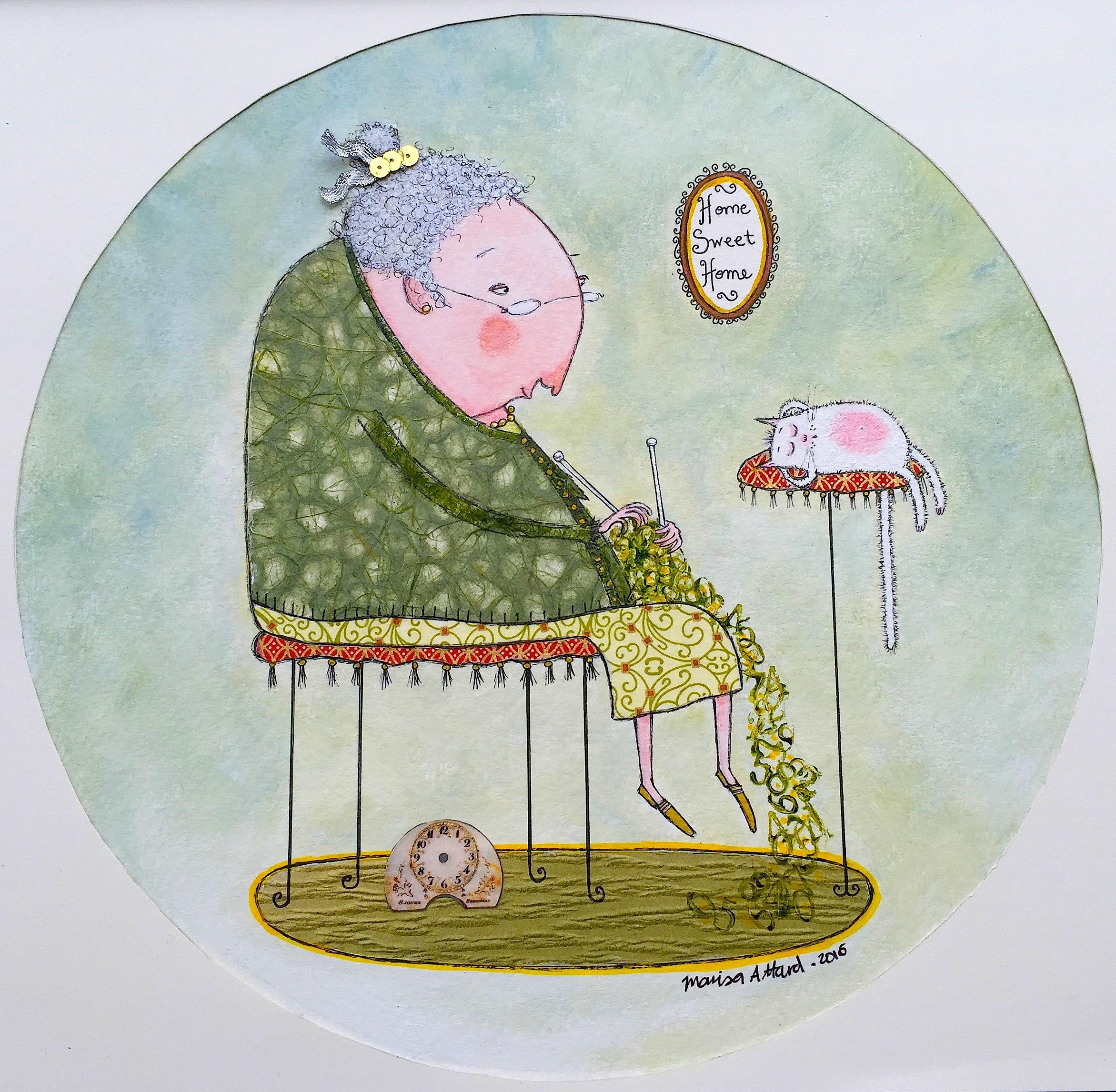 Knitting Nanna