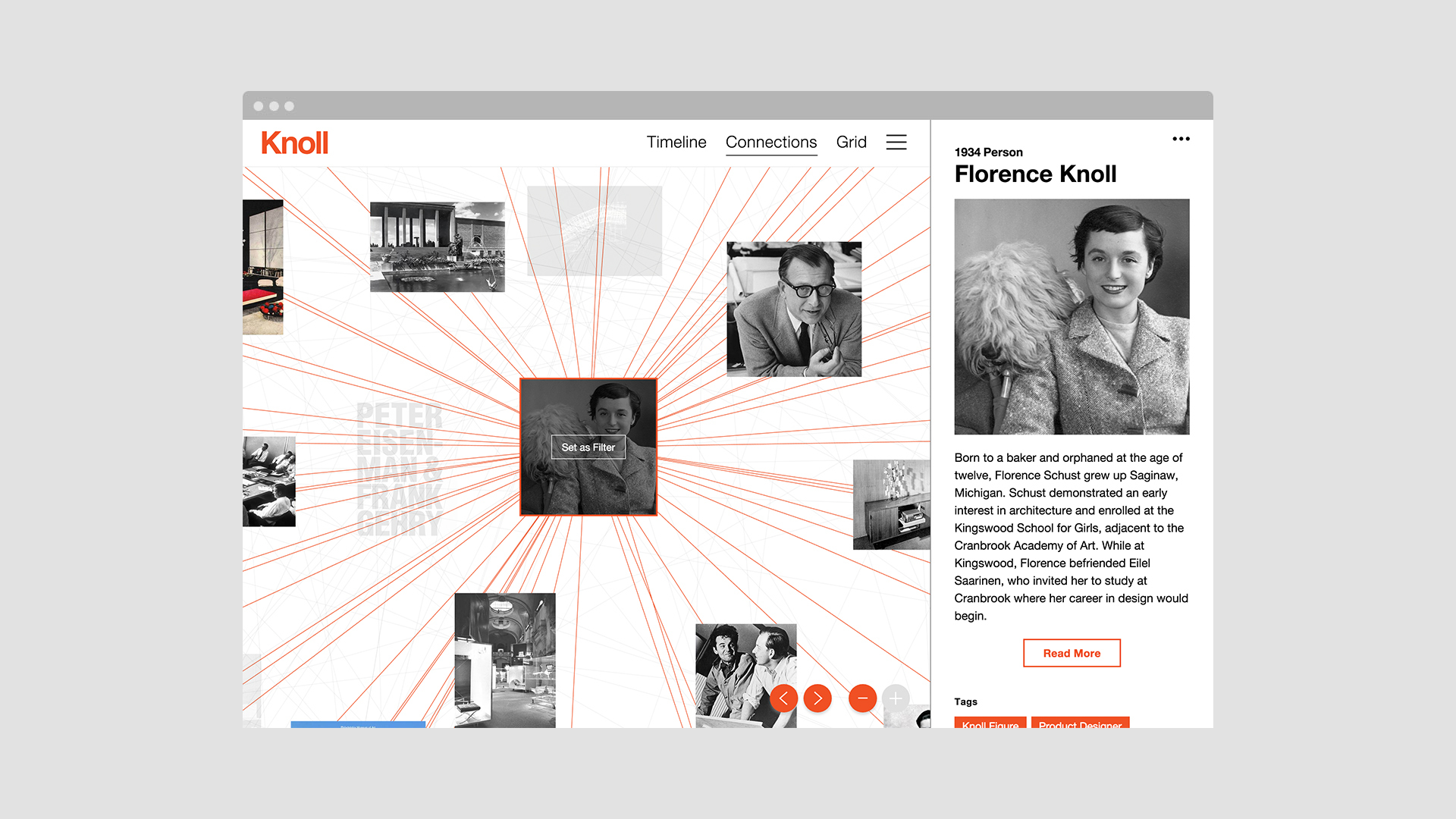 New Work: Knoll Interactive Archive