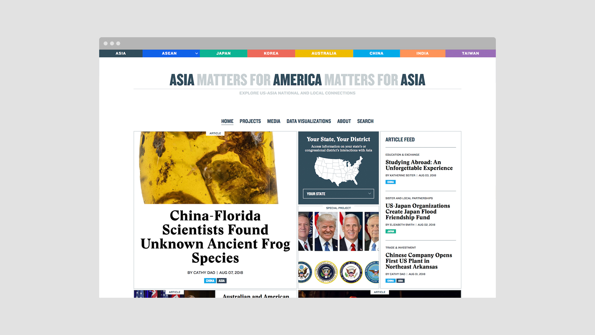 New Work: Asia Matters for America