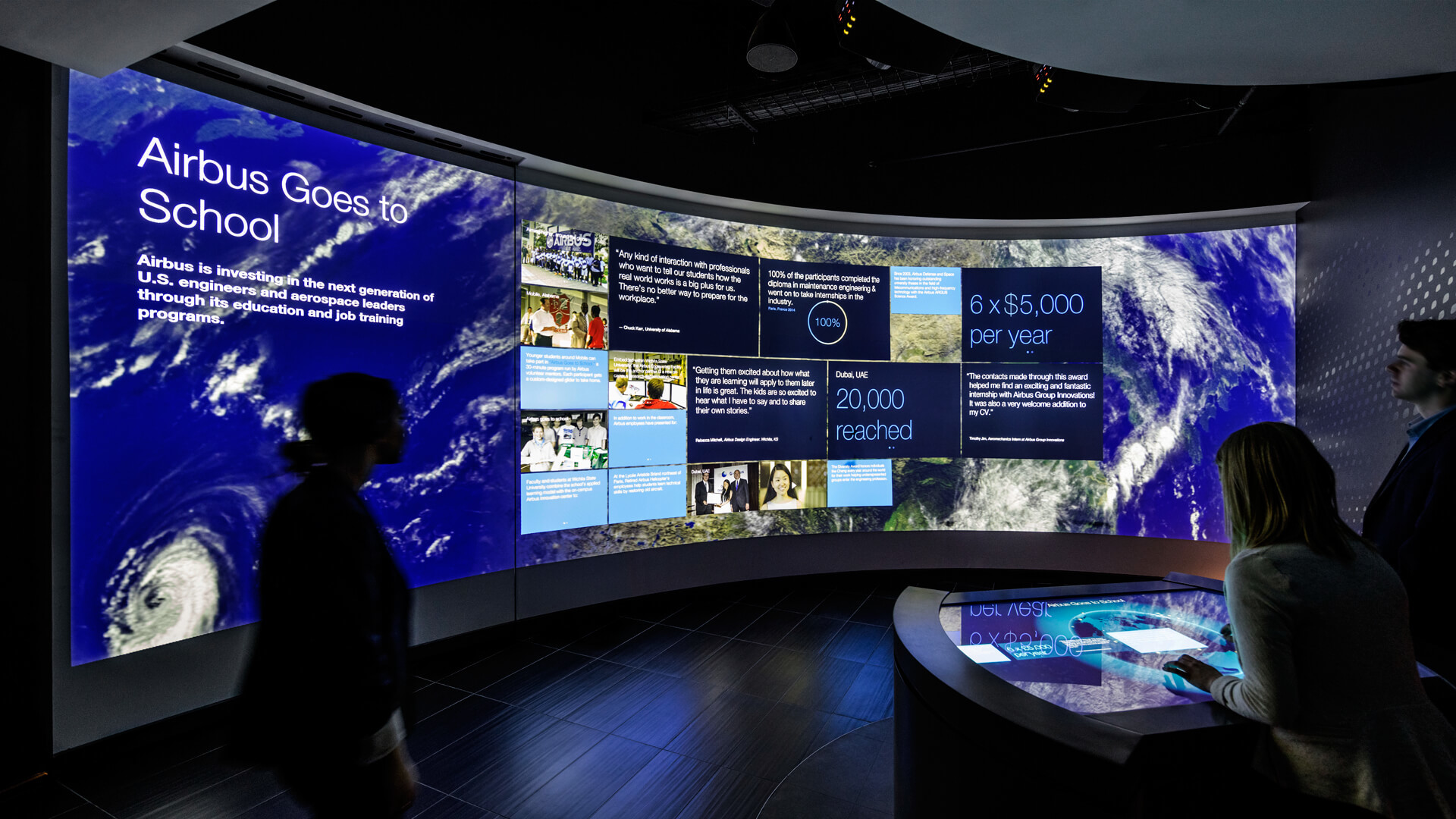 New Work: Airbus Experience Center