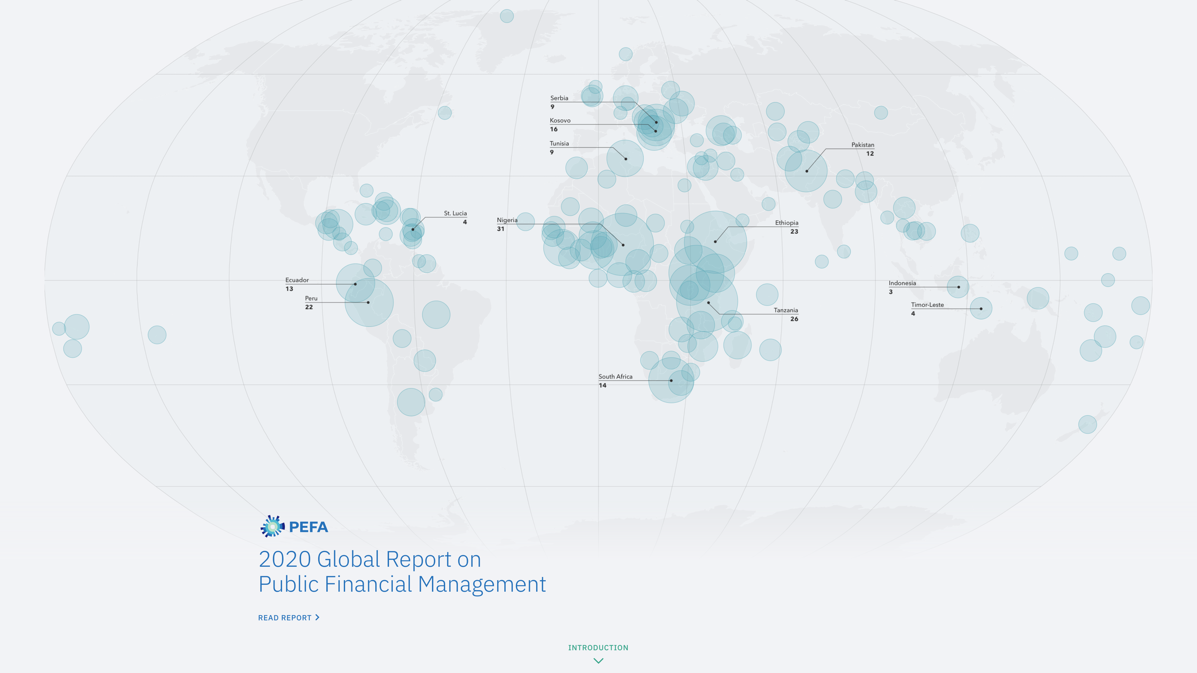 New Work: 2020 PEFA Report on Global Financial Management
