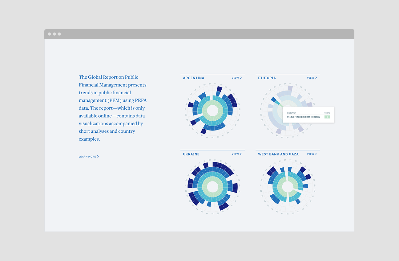 Promoting Engagement and Assessment through Interactive Reports