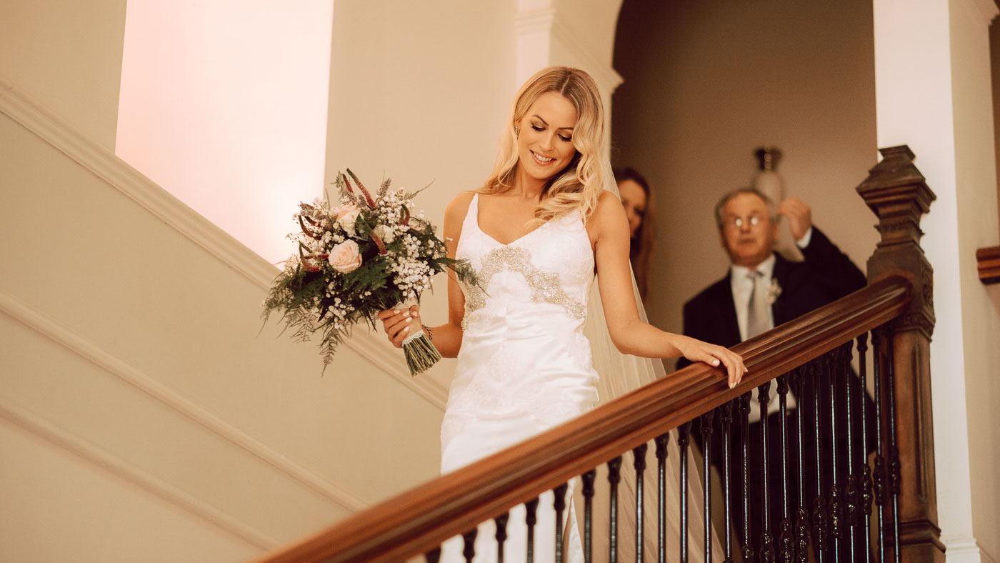 Luxury Wedding at Clonwiliiam House, Wicklow. Featured on One Fab Day.