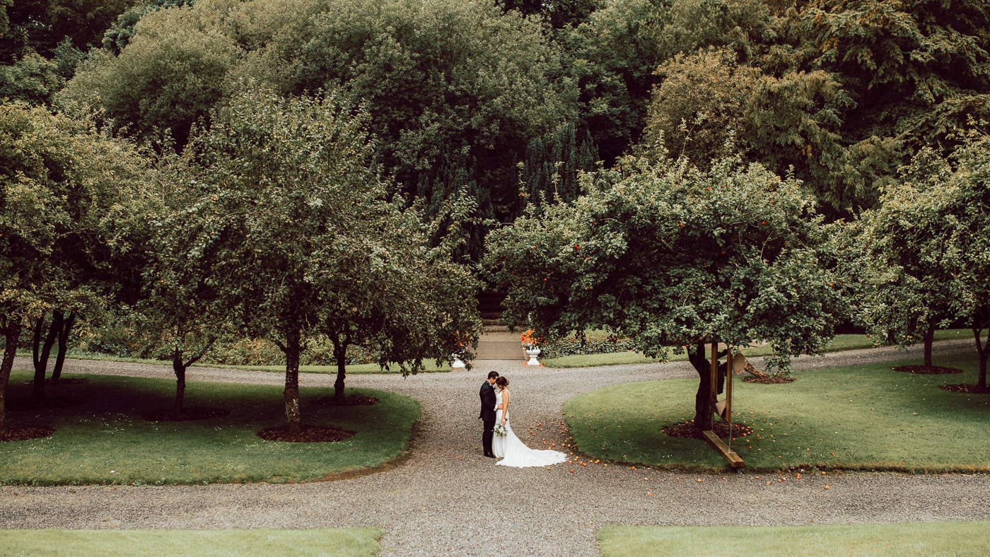 Featured on OneFabDay. Like many of my clients, Jacqui & John arranged everything from abroad. Boynehill House, Navan was perfectly suited for their vision for the wedding: An elegant private estate with outdoor gardens that depict Irish greenery in most glorious light. Very few places are better for saying your wedding vows! Furthermore, the gardens are a wedding photographers dream for couple portraits—I'll let the photos do the talking! All in all, a beautiful outdoor summer wedding. Credits: Flowers: Petals and Pressies, Navan, Meath. Cake: French Wedding Cakes (Julien Drappeau). Makeup & Makeup: Nikki Fanning