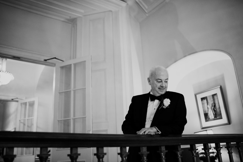 dad-bridal-prep-durrow-castle-ireland-elegant