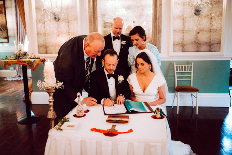 durrow-castle-wedding-ireland-classic-vows-ceremony