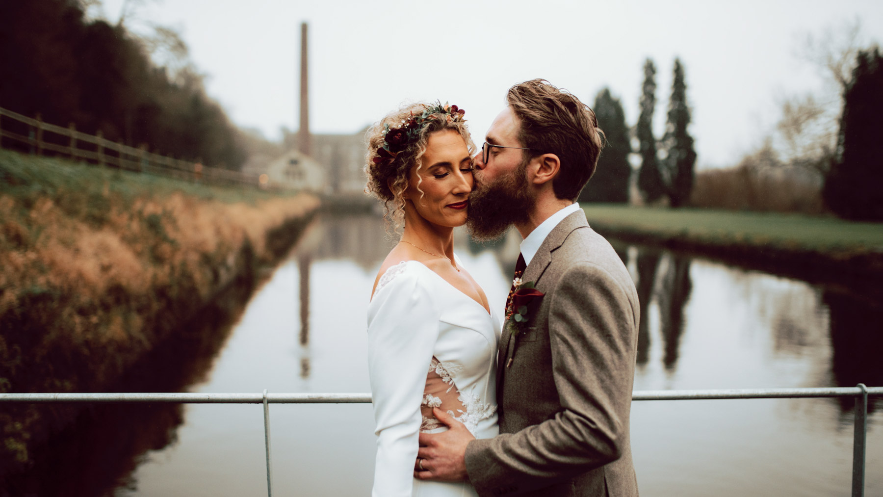 Highlights of a Winter Wedding at The Millhouse