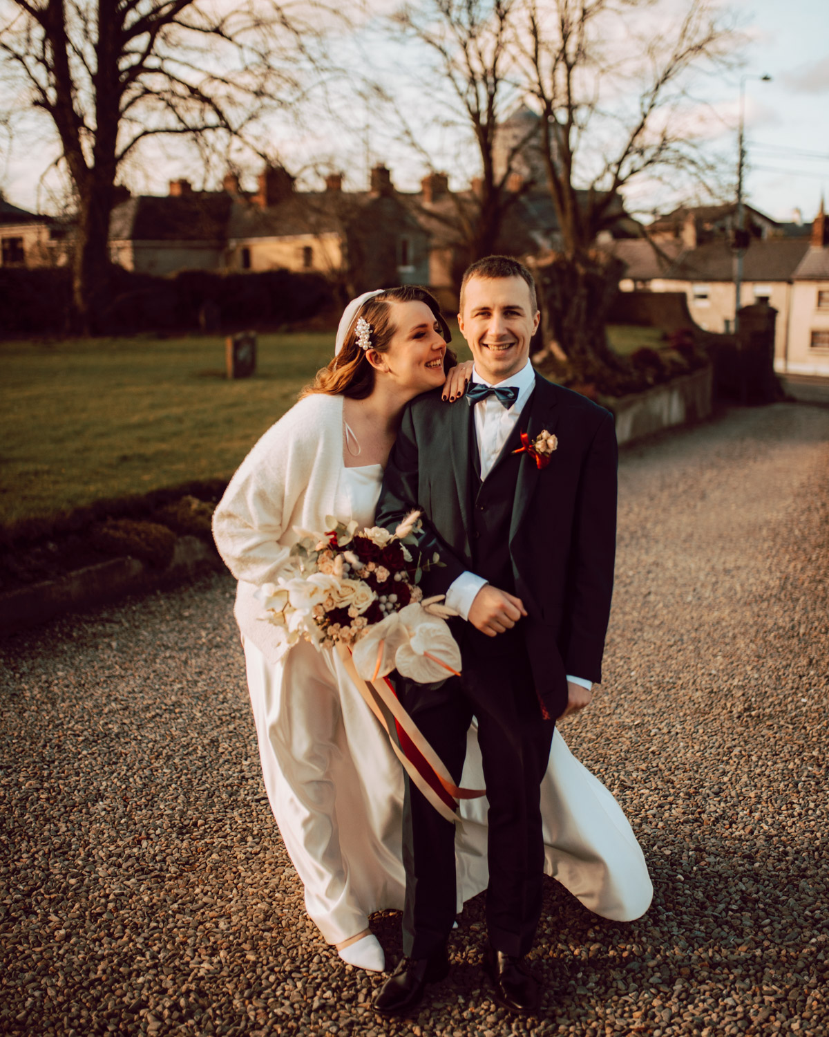 "A & V - 6 Guest Covid Wedding: ""I could just let go and trust him with capturing the day."""