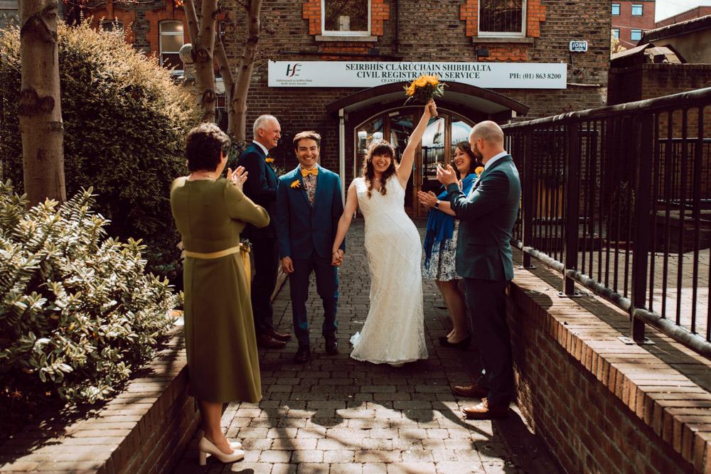 Four Guest Covid Wedding - Dublin City Centre