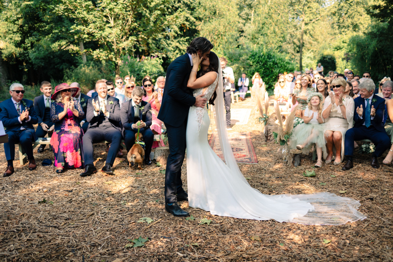 Stylish Outdoor Summer Wedding