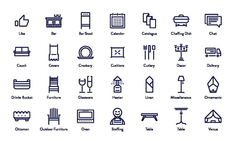 EHIRE Icons