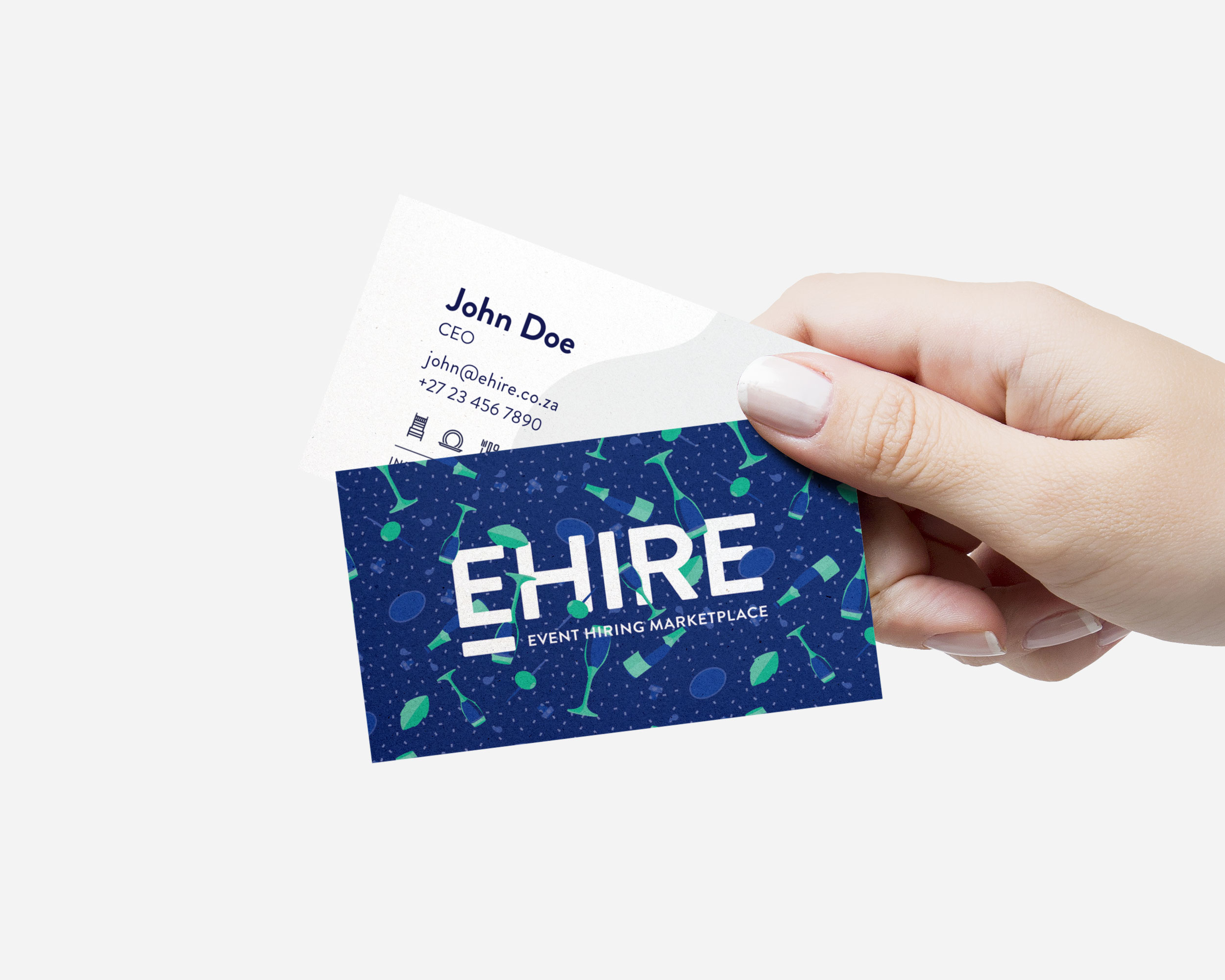 EHIRE Business Cards
