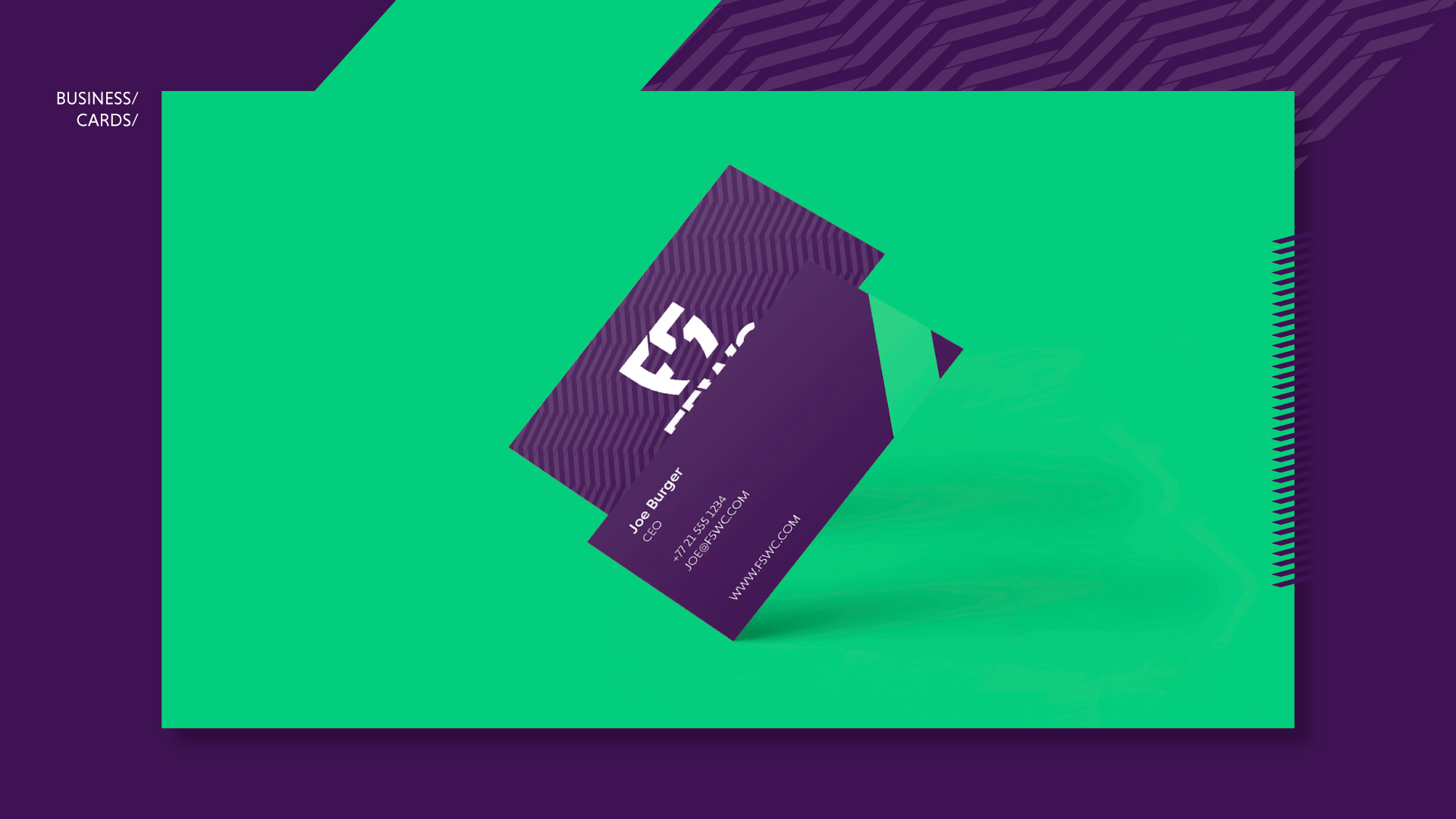 F5WC Business Cards