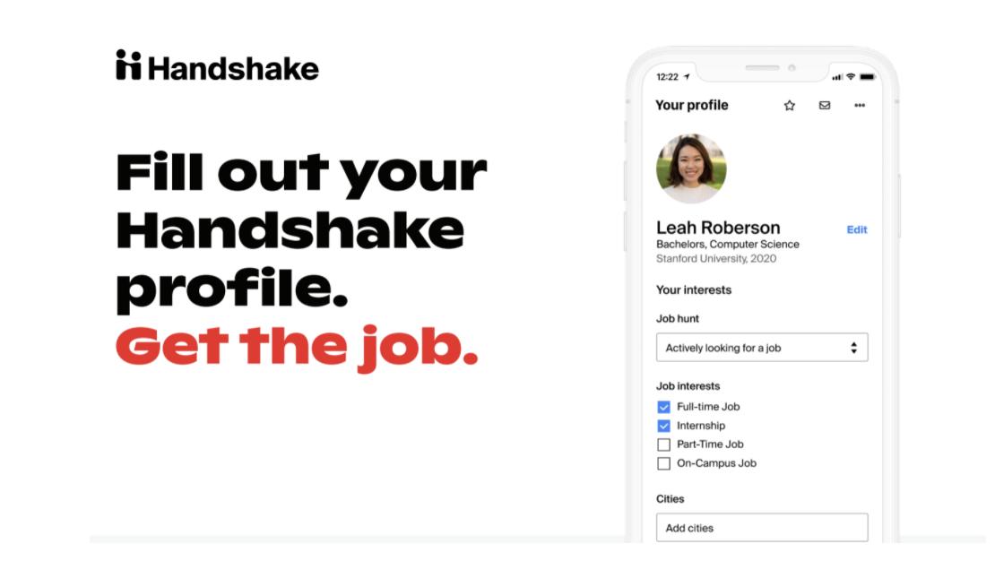 Handshake Open Email Template 2