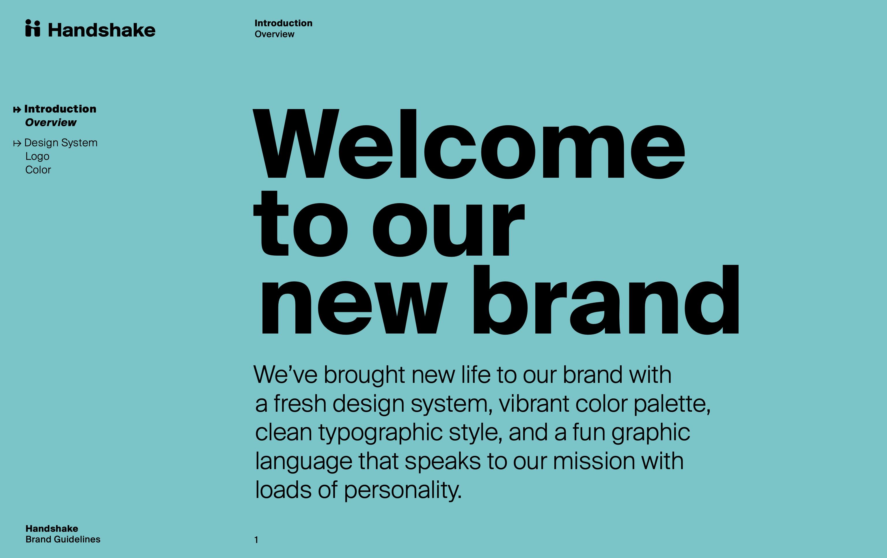 Handshake Brand Guidelines
