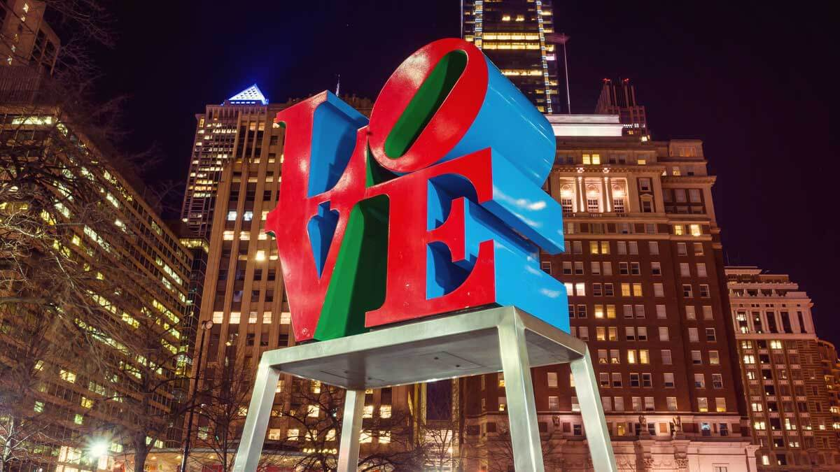 Philadelphia Love Sculpture
