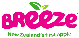 Breeze logo - New Zealand's first apple