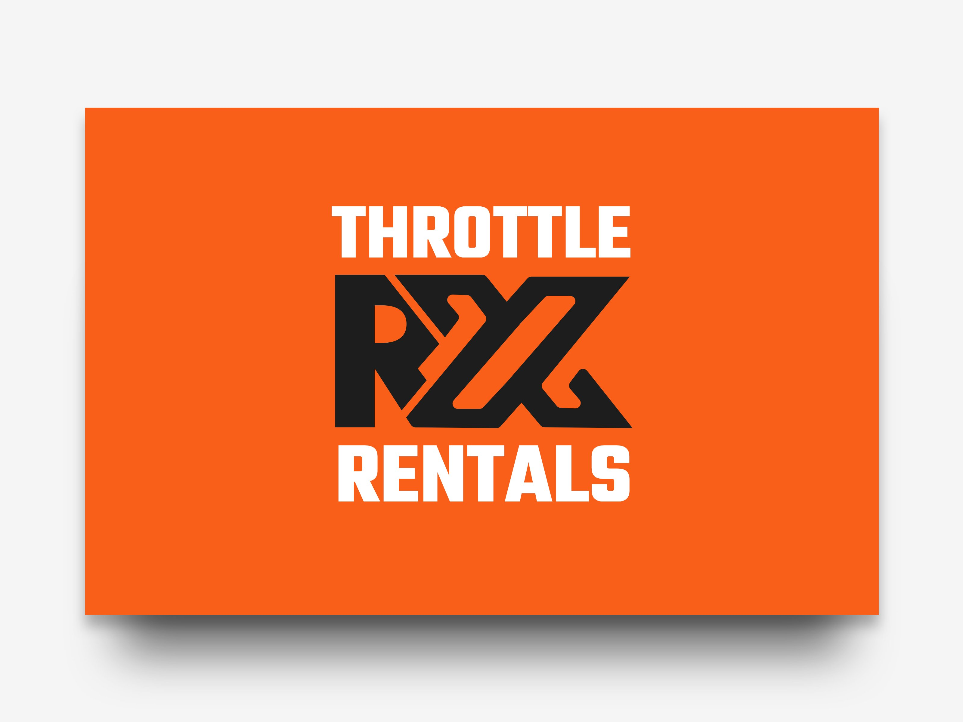 Throttle RX Rentals Logo