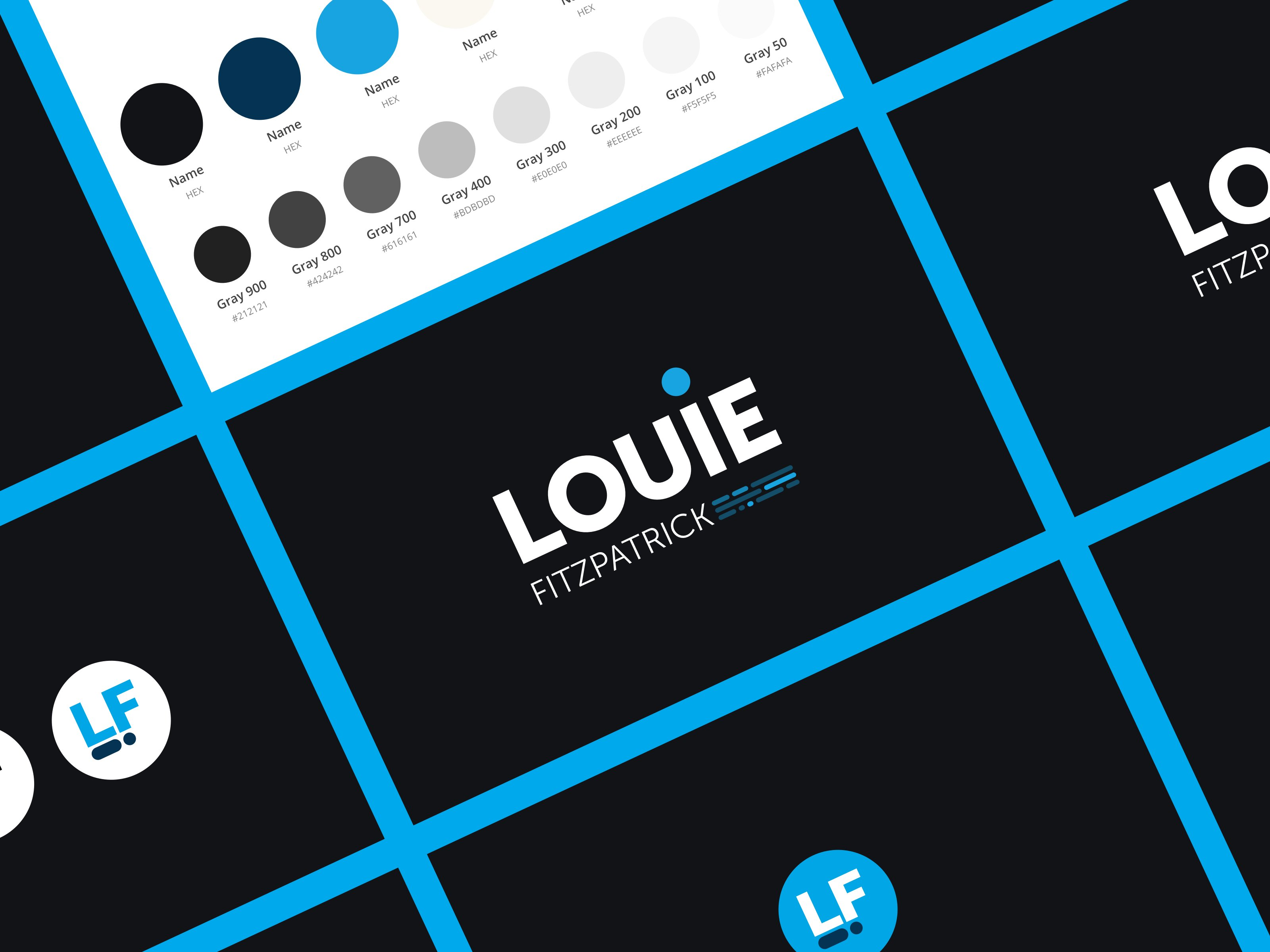 Louie Fitzpatrick Branding
