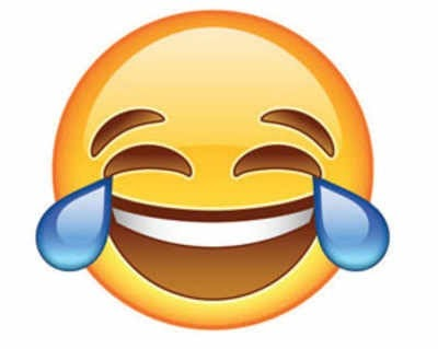 Face with tears of joy' world's most popular emoji
