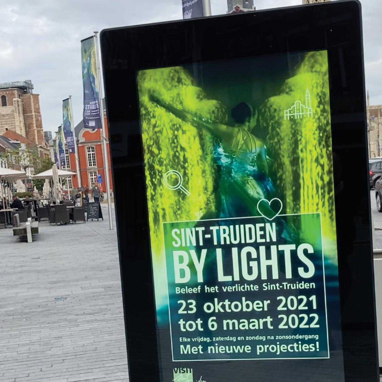 Sint-Truiden by lights 2021