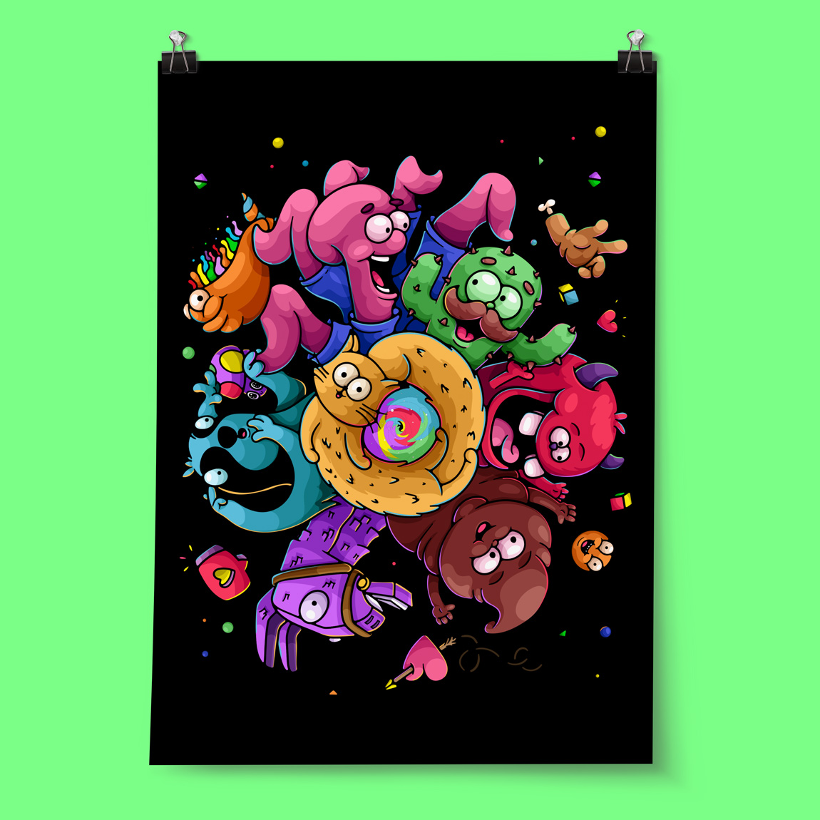 Buy the artists edition poster