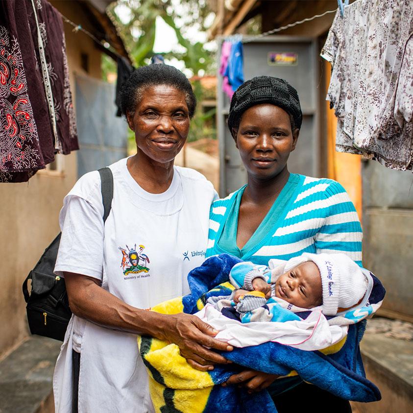 Female Stove Entrepreneur from Kenya