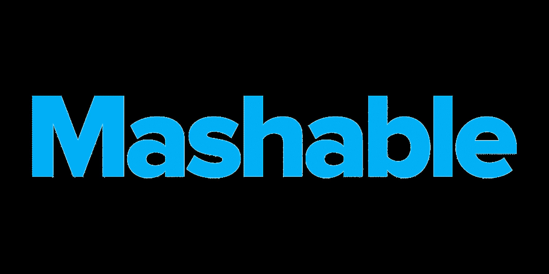 Mashable logo.