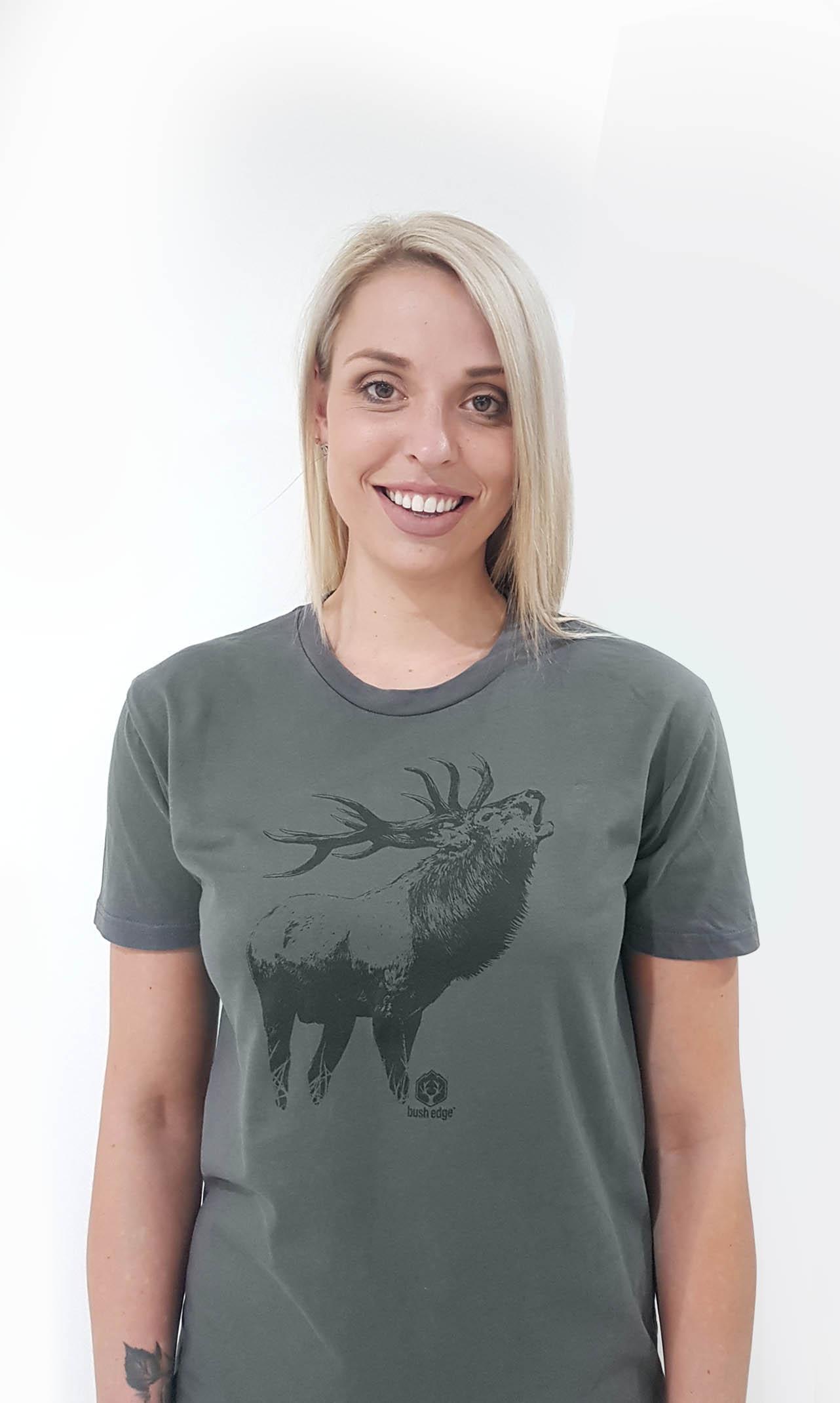 'Untamed' Red Deer TShirt