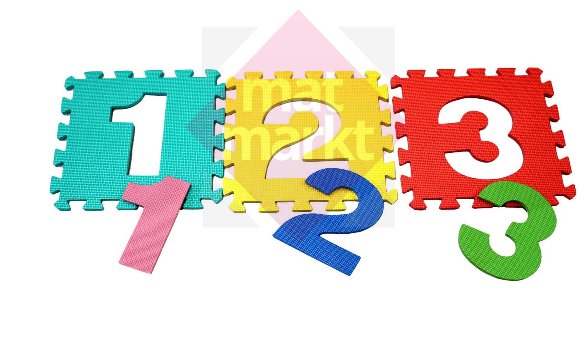 Tapetes de Foami Para Niños con Números