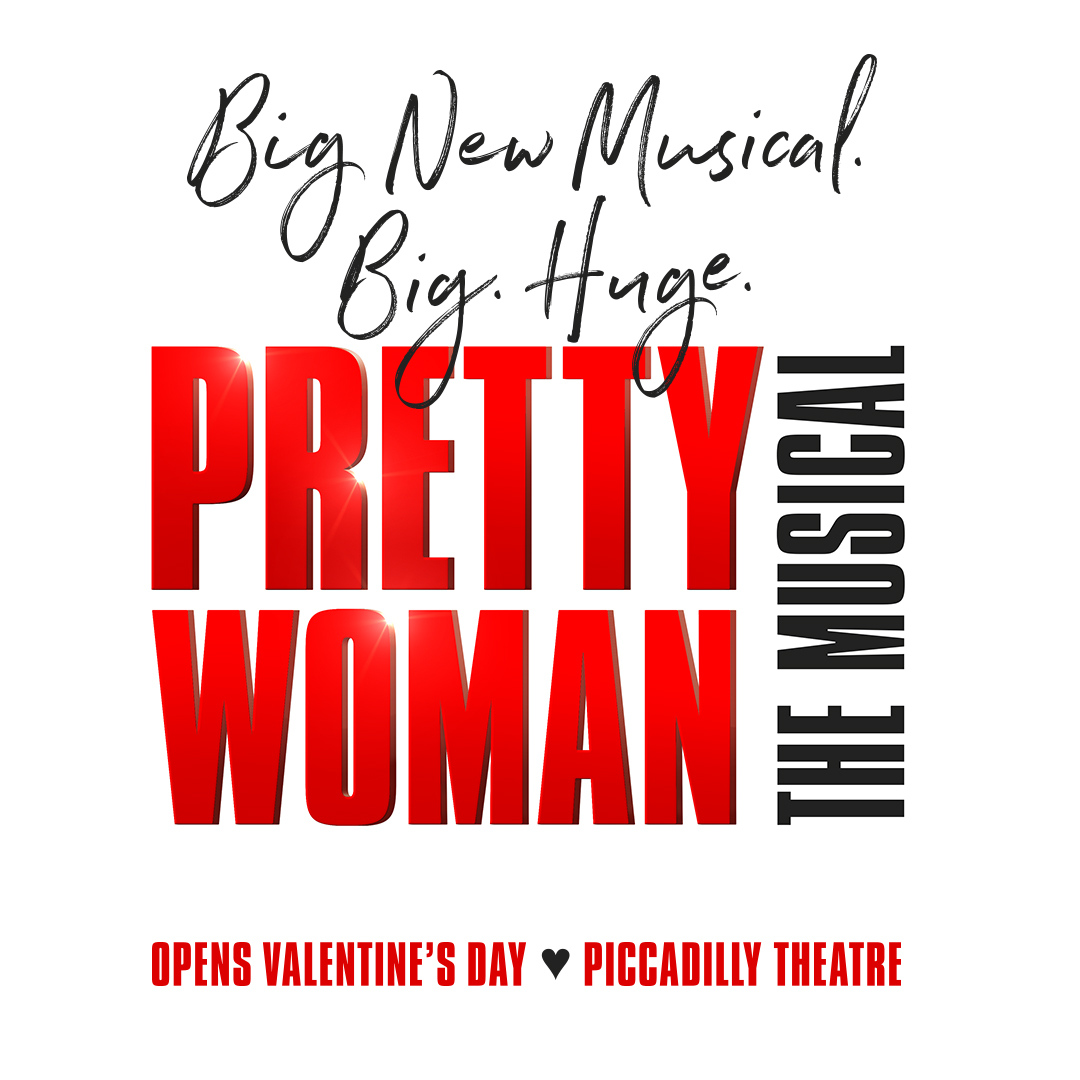 official title artwork of pretty woman, opening valentine's day