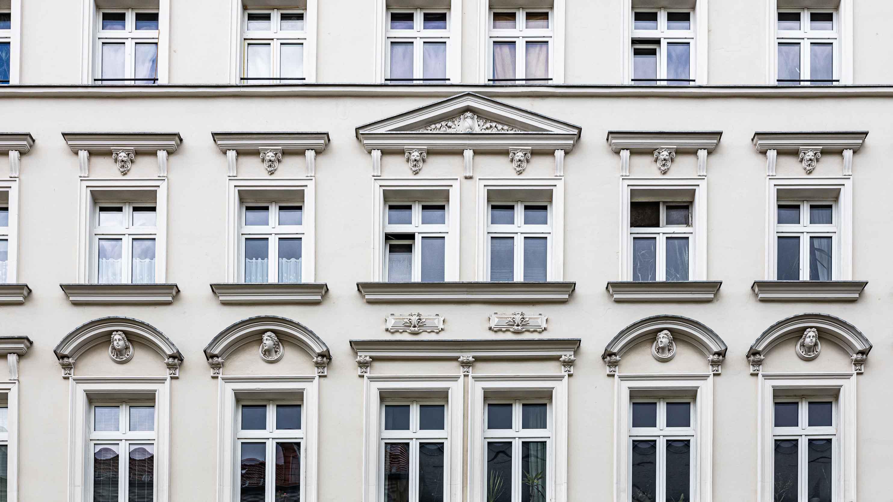 Fassade Gründerzeithaus