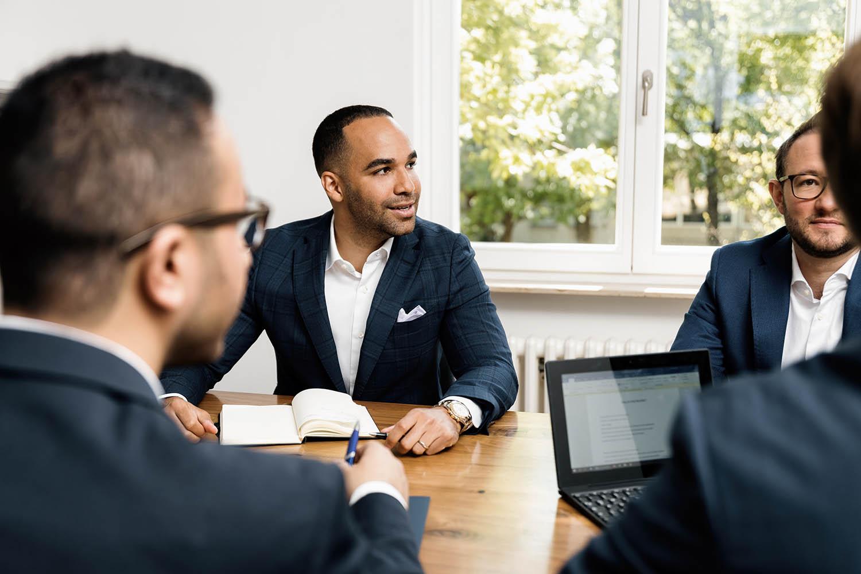 Real estate agent conversation