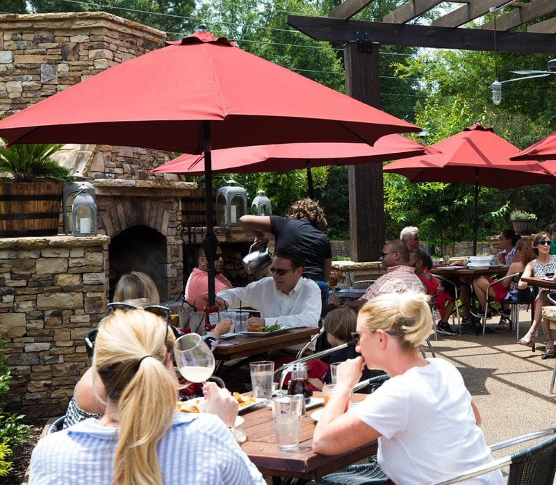 Outdoor Dining at The Mill Kitchen and Bar