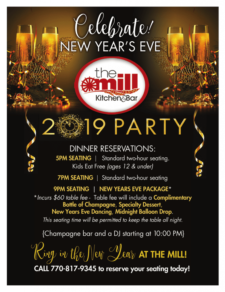 2019 new year's eve celebration