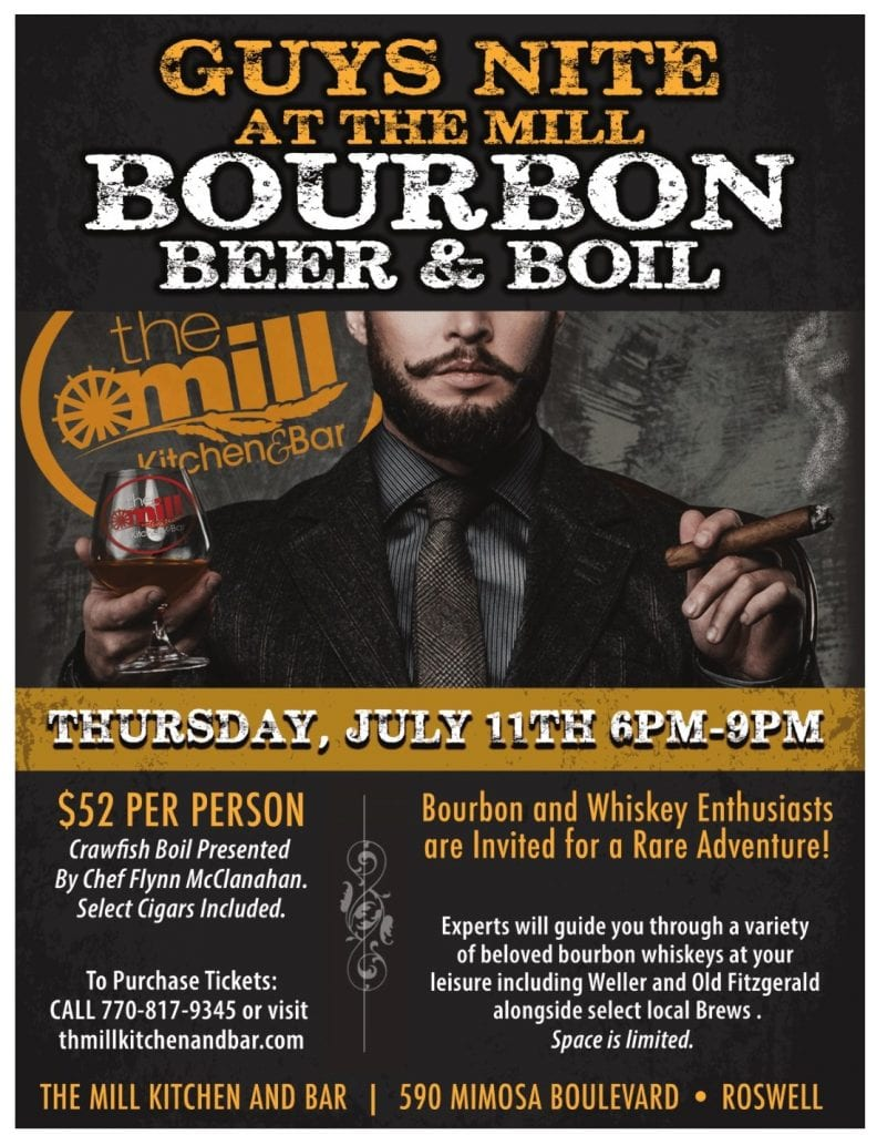 bourbon beer and boil
