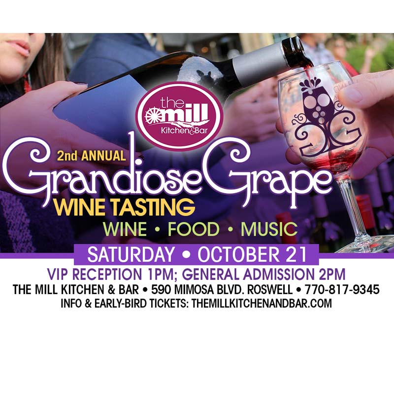 grandiose grape wine tasting