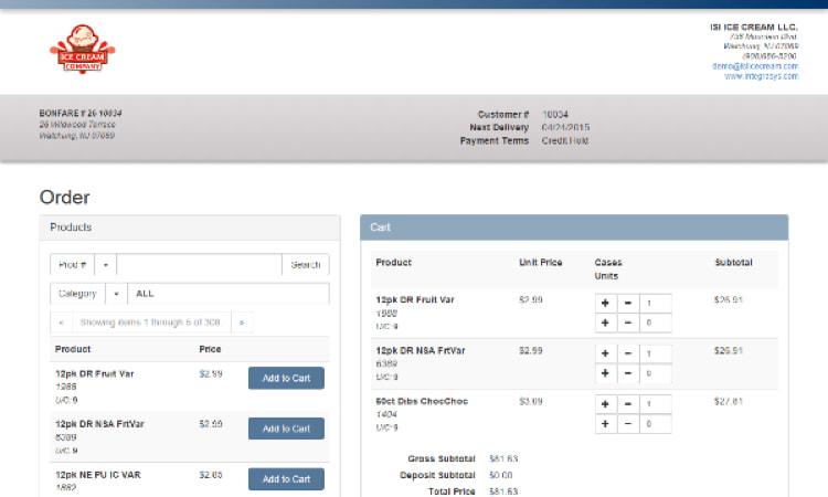 Customer Web Order Portal (Plug and Play!)