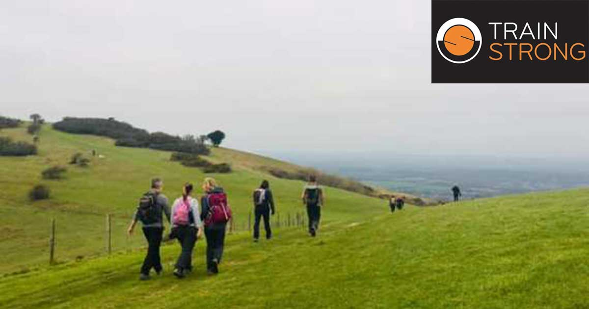 Picture of hill walkers