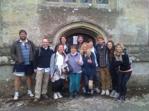 Para Monte team on Charity Walk