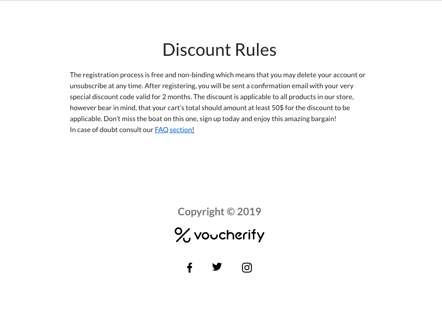 Voucherify Contest Rules