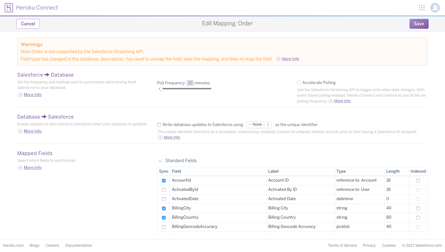 Connecting Heroku and Salesforce