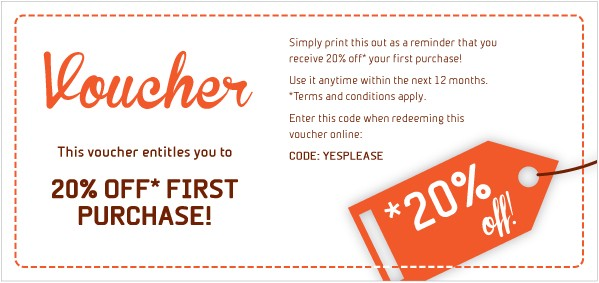 discount coupon generator - 1st purchase