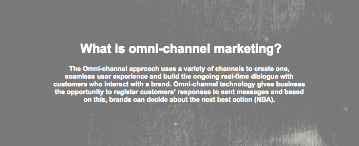 Omni-channel marketing definition